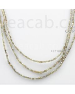Fancy Diamond Cube Beads - 3 Lines - 70.54 carats (FncyDiaCu1010)