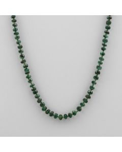 Emerald Faceted - 1 Line - 42.50 carats - 18 inches - (CSNKL1021)