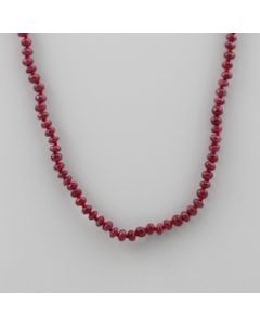 Ruby Roundel - 1 Line - 64.50 carats - 18 inches - (CSNKL1023)