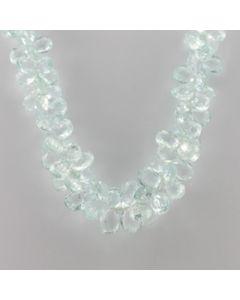 Aquamarine Drop - 1 Line - 375.00 carats - 16 inches - (CSNKL1032)