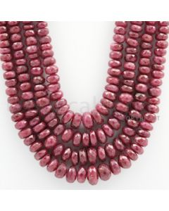 Ruby Faceted - 4 Lines - 948.00 carats - 18 to 22 inches - (RFB1008)