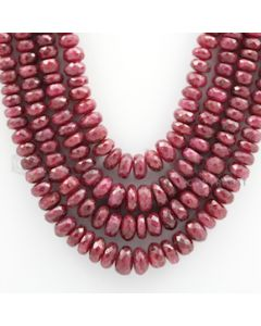 Ruby Faceted - 4 Lines - 903.00 carats - 16 to 19 inches - (RFB1004)