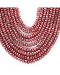 Ruby Faceted - 9 Lines - 724.75 carats - 18 to 22 inches - (RFB1001)