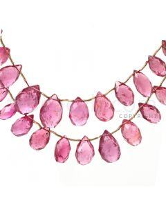 1 pc - Medium Pink - Tourmaline Faceted Drop (AAA) - 250 cts. (TFD1053)