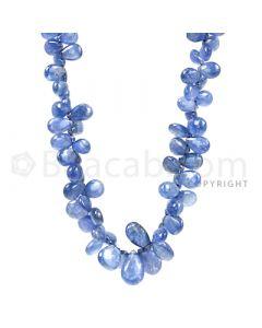 1 Line - Medium Blue Sapphire Drops - 127.18 cts - 5 x 2.7 mm to 11.4 x 7.2 mm (SDR1020)