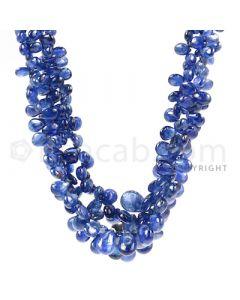 3 Lines - Medium Blue Sapphire Drops - 261.5 cts - 4.5 x 2.9 mm to 10 x 6.4 mm (SDR1016)