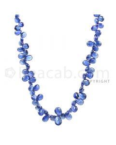 1 Line - Medium Blue Sapphire Drops - 58 cts - 4.4 x 3 mm to 6.2 x 5 mm (SDR1015)