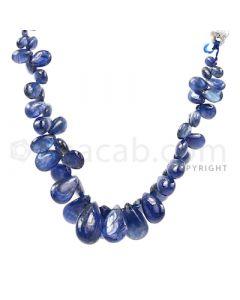 1 Line - Medium Blue Sapphire Drops - 94.5 cts - 4.9 x 3.4 mm to 14.7 x 9.7 mm (SDR1021)