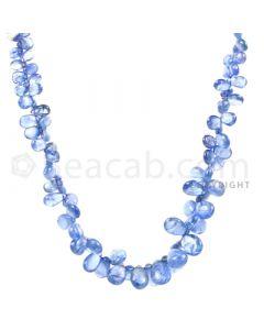 1 Line - Medium Blue Sapphire Drops - 59.5 cts - 4.5 x 3.1 mm to 8.5 x 6.5 mm (SDR1018)