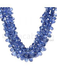 5 Lines - Medium Blue Sapphire Drops - 423 cts - 4.5 x 3.1 mm to 7.9 x 5.7 mm (SDR1024)