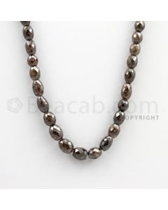 Fancy Diamond Drum Beads - 1 Line - 160.60 carats (FncyDiaDr1002)