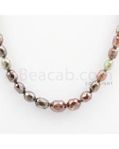Fancy Diamond Drum Beads - 1 Line - 77.67 carats (FncyDiaDr1005)