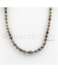 Fancy Diamond Drum Beads - 1 Line - 55.70 carats (FncyDiaDr1010)