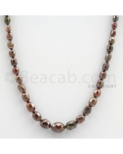 Fancy Diamond Drum Beads - 1 Line - 64.74 carats (FncyDiaDr1004)
