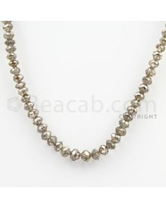 Brown Diamond Faceted Beads - 1 Line - 41.79 carats (BrnDia1011)