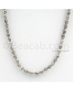 White Diamond Drums - 1 Line - 50.50 carats (WDia1014)