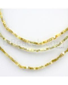 Fancy Diamond Cube Beads - 3 Lines - 45.26 carats (FncyDiaCu1003)