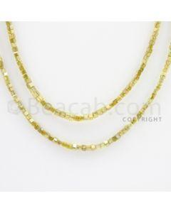 Fancy Diamond Cube Beads - 2 Lines - 30.00 carats (FncyDiaCu1019)