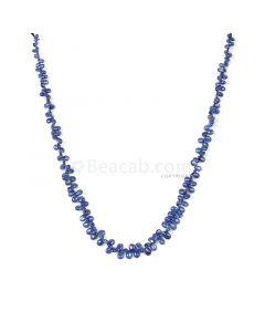 1 Line - Medium Blue Sapphire Drops - 83.50 cts - 4.5 x 2.6 mm to 6.4 x 4.5 mm (SDR1026)