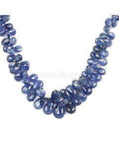1 Line - Medium Blue Sapphire Drops - 263.00 cts - 5.3 x 3.9 mm to 12.5 x 8.3 mm (SDR1025)