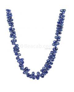 1 Line - Medium Blue Sapphire Drops - 175.50 cts - 4.5 x 3.2 mm to 8.6 x 5.3 mm  (SDR1027)