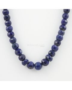 7 to 10 mm - 1 Line - Lapis Lazuli Gemstone Faceted Beads - 217.75 carats (LapisB1004)