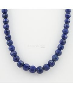 6 to 9.50 mm - 1 Line - Lapis Lazuli Gemstone Faceted Beads - 189.80 carats (LapisB1008)