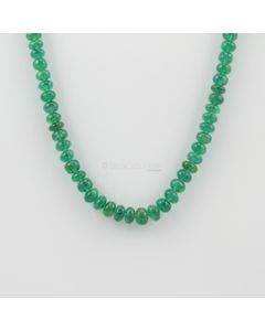 4.50 to 6.80 mm - 1 Line - Emerald Gemstone Smooth Beads - 131.83 carats (CSNKL1083)