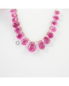 6 to 11.50 mm - Medium Pink Tourmaline Drop - 22.17 carats (ToDr1078)