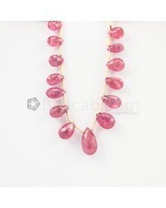6 to 10 mm - Medium Pink Tourmaline Drop - 15.18 carats (ToDr1079)