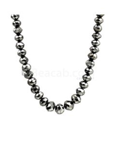 6 to 9 mm - Black Diamond Beads Faceted - 1 Line - 214.00 carats (BDia1029)