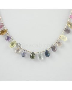 6 to 8.20 mm - 1 Line - Tourmaline Drops - 41.20 carats (ToDr1045)