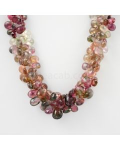 6 to 10 mm - 2 Lines - Tourmaline Drops - 265.00 carats (ToDr1058)